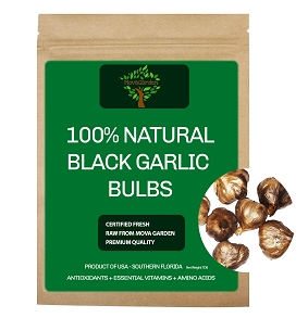Organic Black Garlic - 8oz