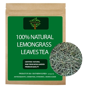 Dried Lemongrass Leaf - 50 Grams