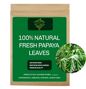 Fresh Papaya Leaves - 1lb